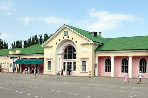 Железнодорожный вокзал Феодосия