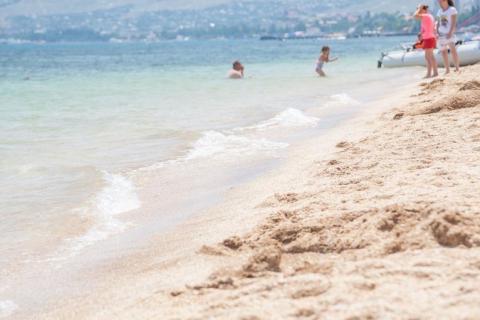 Пляж отеля Атлантик