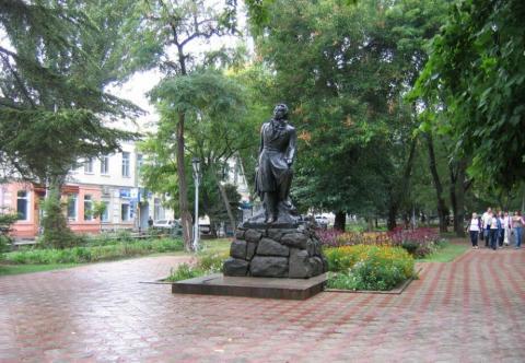 Памятник Пушкину в Феодосии