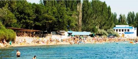 Пляж Динамо Феодосия