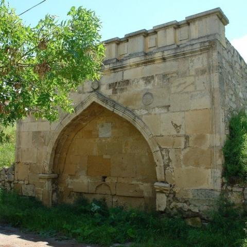 Фонтан в Караимской слободе Феодосия