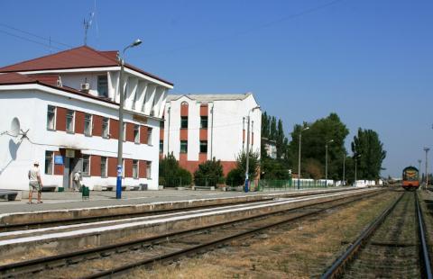 Станция Айвазовская в Феодосии